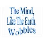 La mente Wobblesblubent Postal