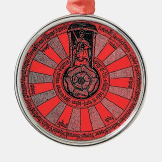 La mesa redonda de Arturo Ornamento De Navidad