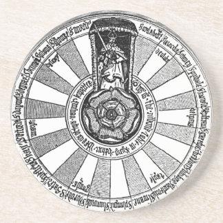 La mesa redonda de Arturo Posavasos Para Bebidas