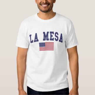 La Mesa US Flag Tee Shirt