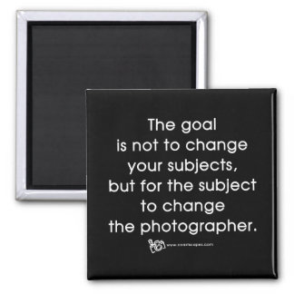 La meta del fotógrafo imán para frigorífico