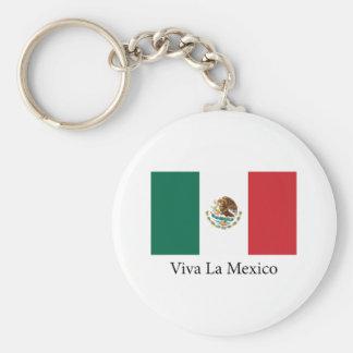 La México de Viva Llavero Redondo Tipo Pin