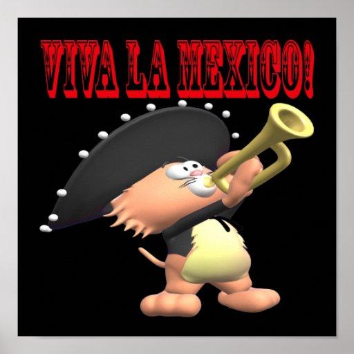 La México de Viva Poster