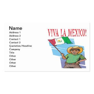 La México de Viva Tarjetas De Visita