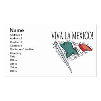 La México de Viva Tarjeta De Visita