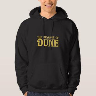 La mezcla de duna jersey con capucha