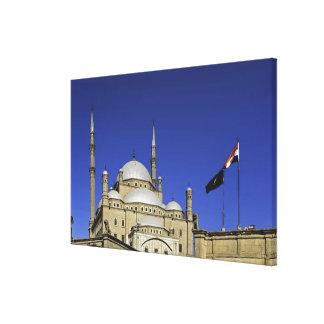 La mezquita de Mohamed Ali en la ciudadela, tambié Impresión En Lona