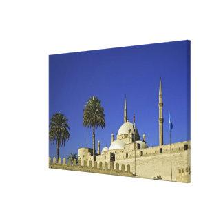 La mezquita de Mohamed Ali en la ciudadela, tambié Impresiones De Lienzo