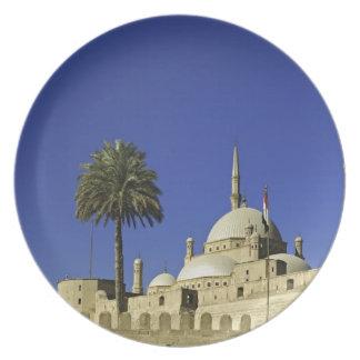 La mezquita de Mohamed Ali en la ciudadela, tambié Plato Para Fiesta