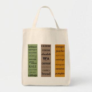 La mi bolsa de asas de List_Organic del ultramarin
