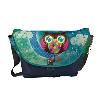 La mi bolsa de mensajero creciente del búho bolsas de mensajería