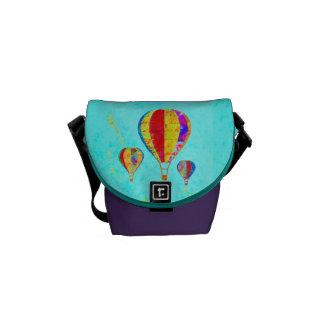 La mi mini bolsa de mensajero de los globos hermos bolsas de mensajeria