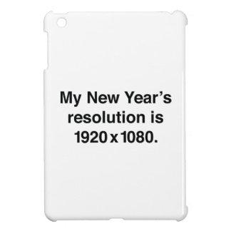 La mi resolución del Año Nuevo