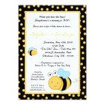 la miel de la primavera 5x7 manosea la invitación invitación 12,7 x 17,8 cm