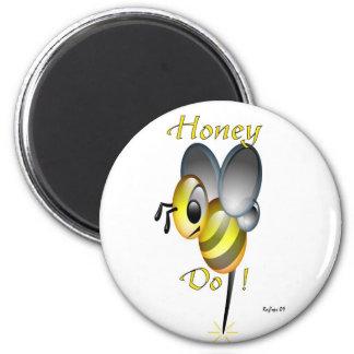 La miel hace iman para frigorífico