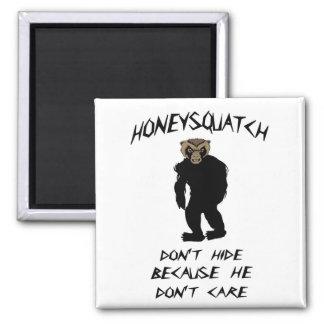 La miel Squatch no oculta Iman