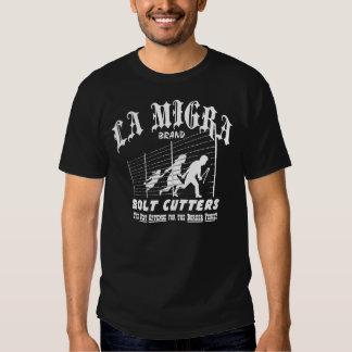 La Migra Bolt Cutters T-shirts