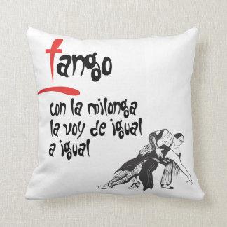 La Milonga y yo Tango Throw Pillow
