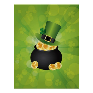 La mina de oro irlandesa acuña el poster