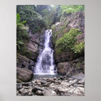 La Mina Falls Poster