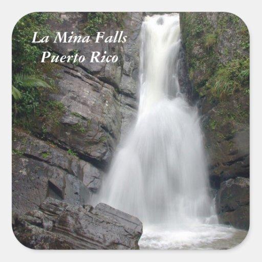La Mina Falls Sticker