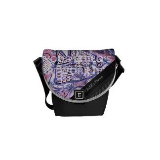 La mini bolsa de mensajero $69,95 bolsas de mensajeria