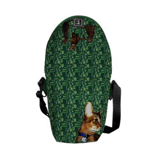 La mini bolsa de mensajero abisinia diaria bolsas de mensajeria