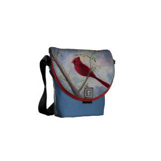 La mini bolsa de mensajero cardinal bolsa de mensajería