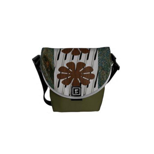 La mini bolsa de mensajero cero del carrito bolsa de mensajeria