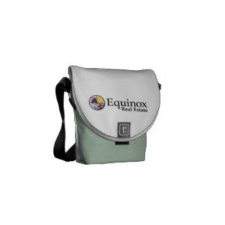 La mini bolsa de mensajero cero del carrito bolsas de mensajería