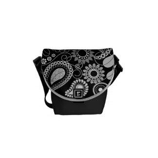 La mini bolsa de mensajero cero del modelo retro d bolsa de mensajería