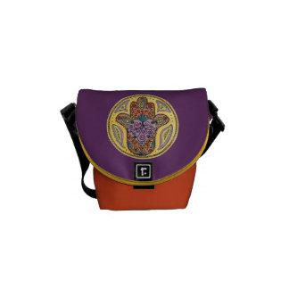 La mini bolsa de mensajero de Hamsa Bolsas De Mensajeria