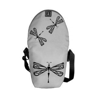 La mini bolsa de mensajero de la libélula bolsa de mensajería