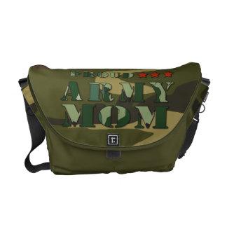 La mini bolsa de mensajero de la mamá orgullosa de bolsas de mensajeria