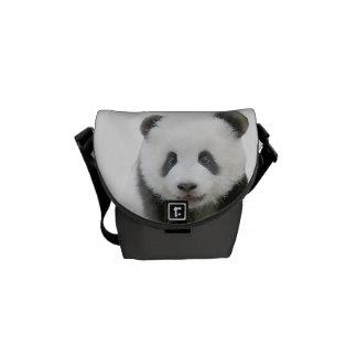 La mini bolsa de mensajero de la panda bolsa de mensajeria
