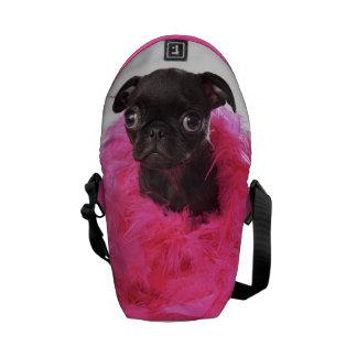 La mini bolsa de mensajero de la pepita APARN Spok Bolsas De Mensajeria