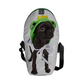 La mini bolsa de mensajero de la pepita APARN Spok