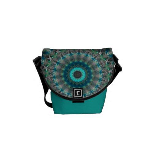 La mini bolsa de mensajero de la tierra del modelo bolsa de mensajería