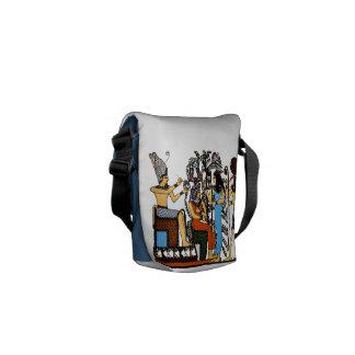 La mini bolsa de mensajero de los derechos egipcio bolsa messenger