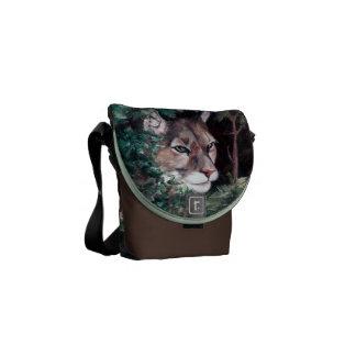 La mini bolsa de mensajero de observación del puma bolsa de mensajería