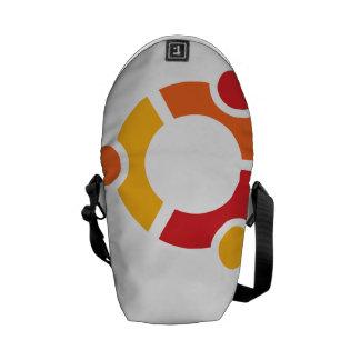 La mini bolsa de mensajero de Ubuntu Bolsas De Mensajería