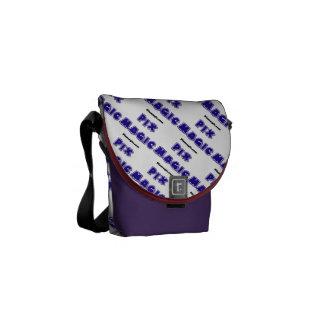 La mini bolsa de mensajero del carrito de encargo  bolsa de mensajeria
