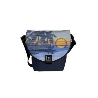 La mini bolsa de mensajero del carrito hawaiano bolsa de mensajeria