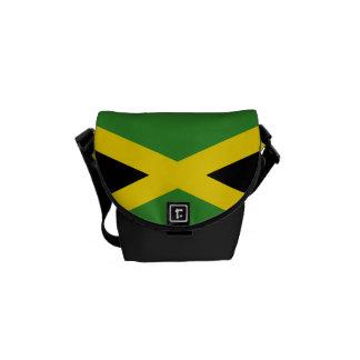 La mini bolsa de mensajero del carrito jamaicano d bolsa de mensajería