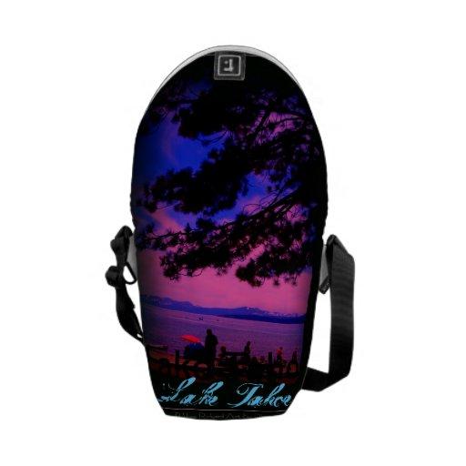 La mini bolsa de mensajero del lago Tahoe Bolsas De Mensajeria