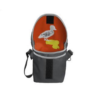 La mini bolsa de mensajero del pato del pato de bolsas de mensajería