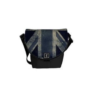 La mini bolsa de mensajero del viajero de Union Ja Bolsa De Mensajería