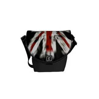 La mini bolsa de mensajero del viajero de Union Ja Bolsa De Mensajeria