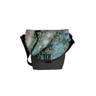 La mini bolsa de mensajero ondulada de la roca bolsas de mensajería