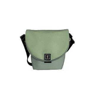"""La mini bolsa de mensajero: """"Verde salvia"""" Bolsas De Mensajeria"""